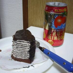 チョコケーキ胃に重いッス